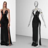 Goldenshadow Collection Dress Iii Viy By Viy Sims