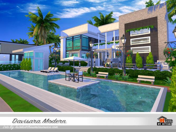 Davisara Modern House By Autaki
