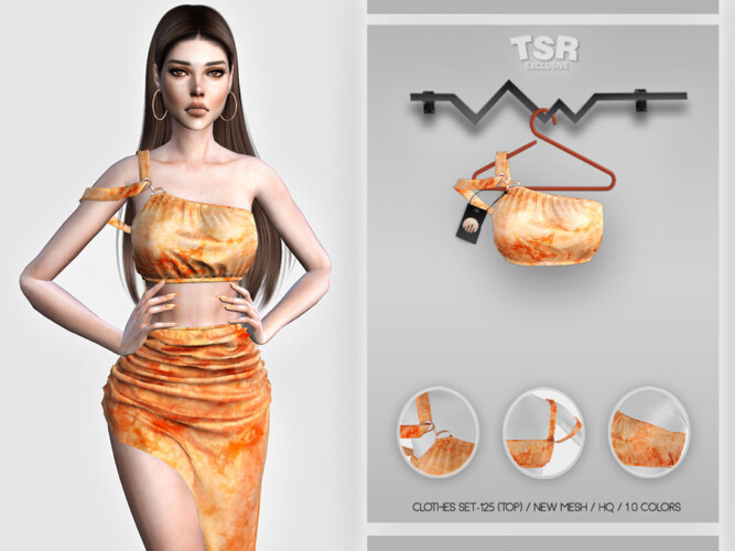 Clothes Set-125 (top) Bd460 By Busra-tr