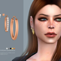 Jordan Earrings By Sugar Owl