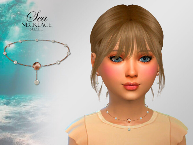 Sea Child Necklace By Suzue