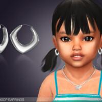 Paloma Hoop Earrings For Toddlers By Feyona