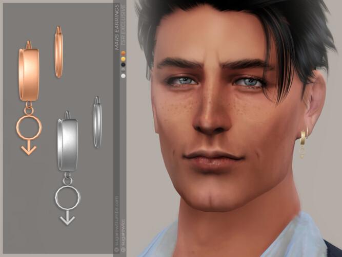 Mars Earrings   Left By Sugar Owl