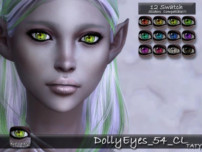 Dolly Eyes 54 Cl By Tatygagg