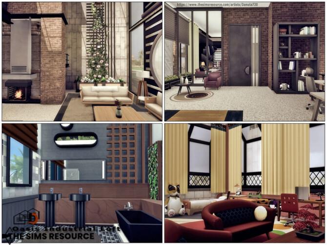 Sims 4 Oasis Industrial Loft by Danuta720 at TSR
