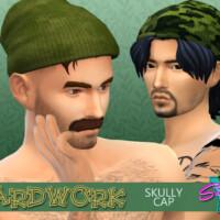 Yardwork Skully Cap By Simmiev