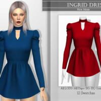 Ingrid Dress By Katpurpura
