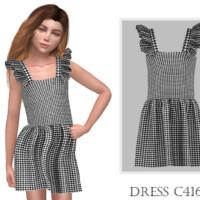 Dress C416 By Turksimmer