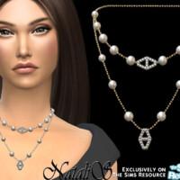 Diamond Hexagon Layered Necklace By Natalis