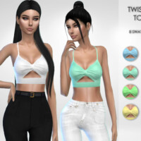 Twisted Top By Puresim