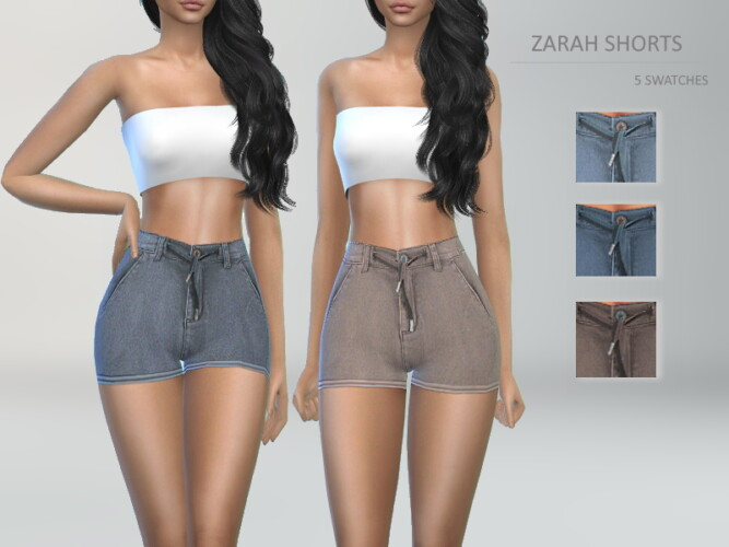 Zarah Shorts By Puresim