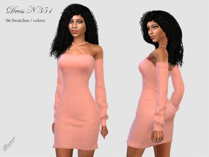 Sims 4 DRESS N 351 by pizazz at TSR