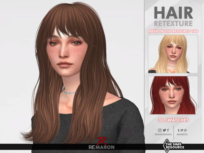 Luanne Hair Retexture By Remaron