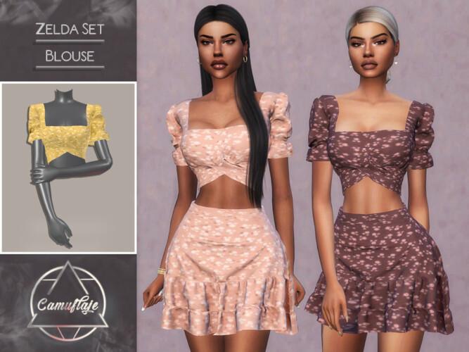 Zelda Set (blouse) By Camuflaje