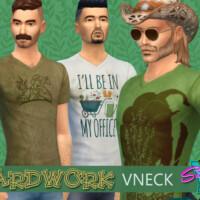 Yardwork V Neck By Simmiev