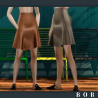 Bella High-waisted Flared Skirt By Bobur3