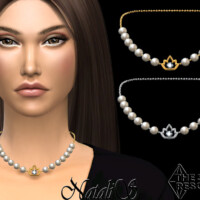 Lotus Pearl Necklace By Natalis