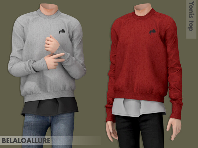 Sims 4 Yonis top by belal1997 at TSR