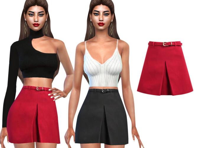 Sims 4 Formal Skirts with Belt by Saliwa at TSR