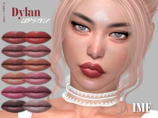 Imf Dylan Lipstick N.342 By Izziemcfire