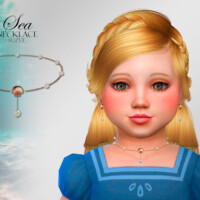 Sea Toddler Necklace By Suzue