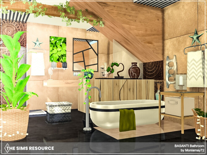 Sims 4 Basanti Bathroom by Moniamay72 at TSR