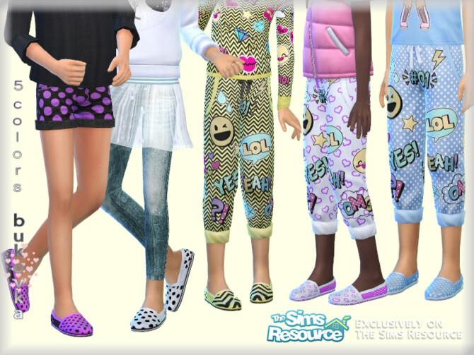 Sims 4 Shoes LOL by bukovka at TSR