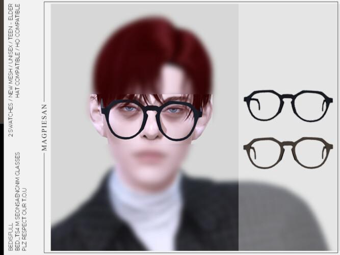 Seonsaengnim Glasses By Magpiesan