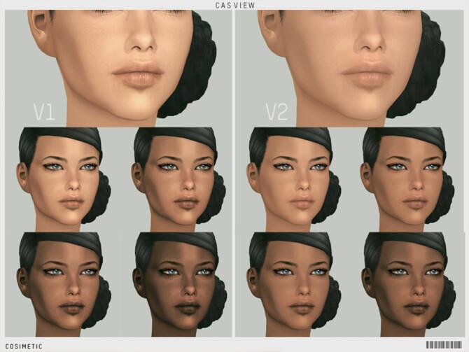 Sims 4 Adriana Lima Skin Overlay by cosimetic at TSR