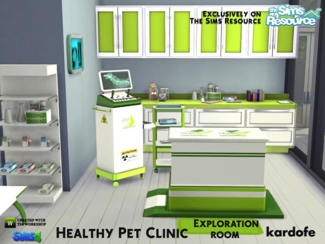 Healthy Pet Clinic Exploration Room By Kardofe