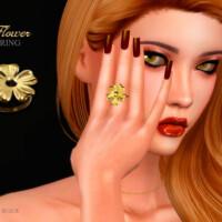 Flower Ring By Suzue