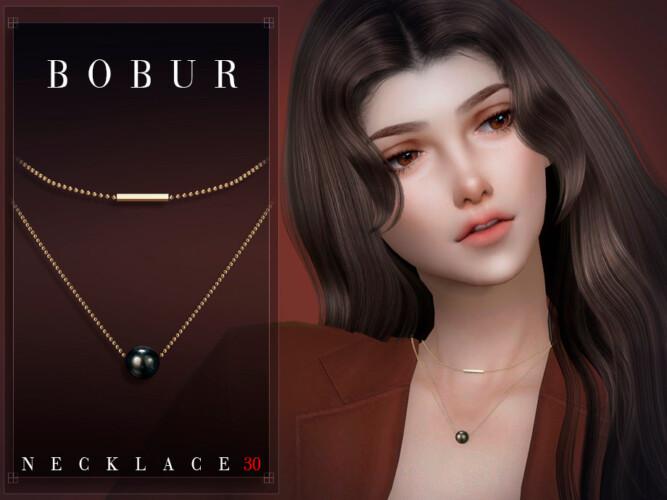 Necklace 30 By Bobur3