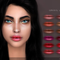 Lipstick A01 By Angissi