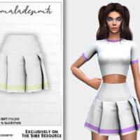 Set Pleated Skirt Mc213 By Mermaladesimtr