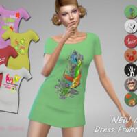 Dress Francisca 1 By Jaru Sims