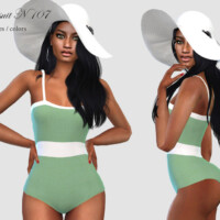 Swimsuit N 107 By Pizazz