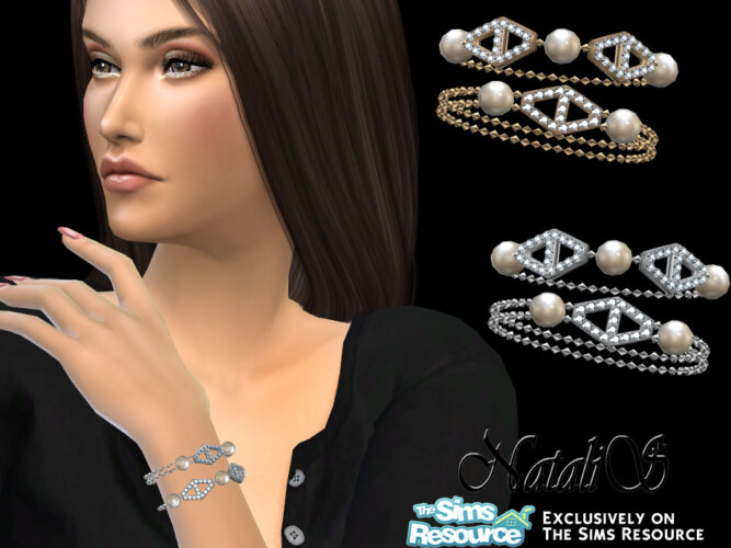 Diamond Hexagon Bracelet By Natalis