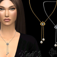Lotus Chain Necklace By Natalis