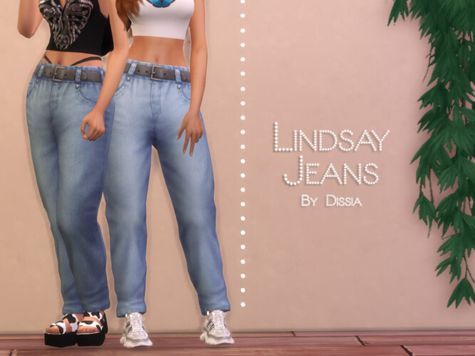 Lindsay Jeans By Dissia