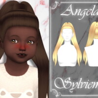 Angela Hairstyle (toddler) By Sylviemy