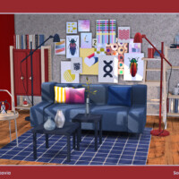 Octavia Living Room By Soloriya