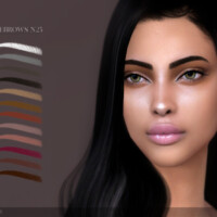 Eyebrows N25 By Angissi