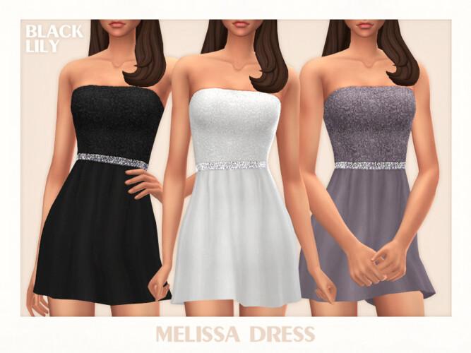 Melissa Dress By Black Lily