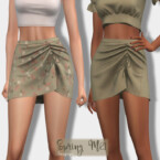 Spring Skirt Bt415 By Laupipi