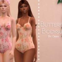 Butterfly Bodysuit By Dissia