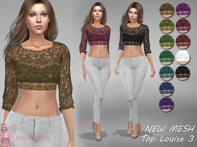 Top Louise 3 By Jaru Sims
