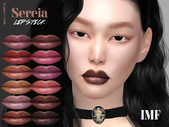 Sims 4 IMF Sereia Lipstick N.345 by IzzieMcFire at TSR