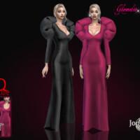 Glenda Long Dress By Jomsims