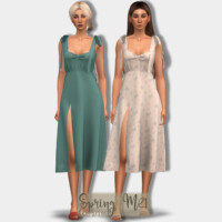 Spring Dress Dr417 By Laupipi