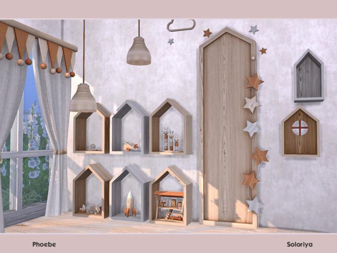 Sims 4 Phoebe set by soloriya at TSR